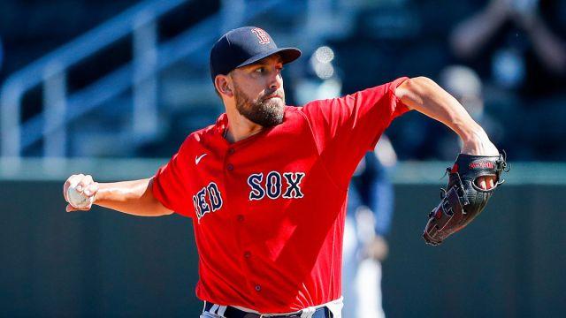 Boston Red Sox reliever Matt Barnes