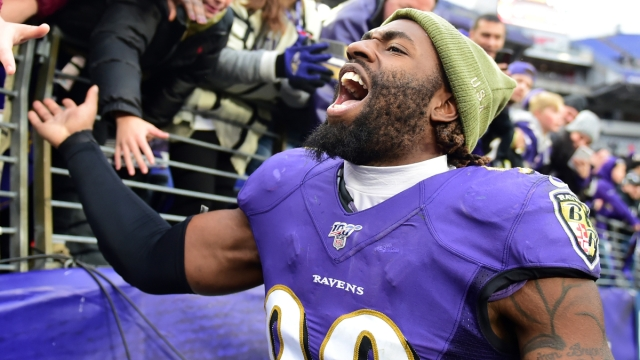 Baltimore Ravens linebacker Matthew Judon