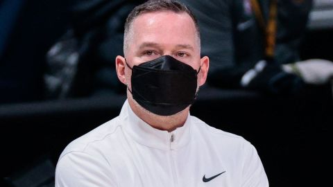 Denver Nuggets coach Michael Malone