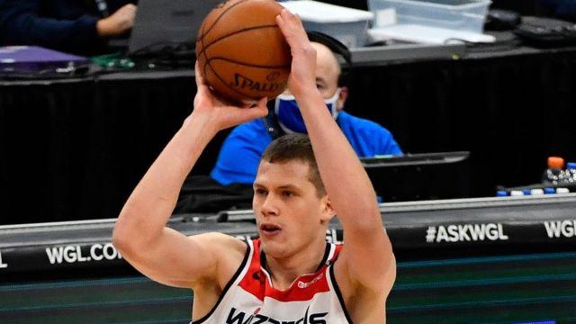 Boston Celtics center Moe Wagner