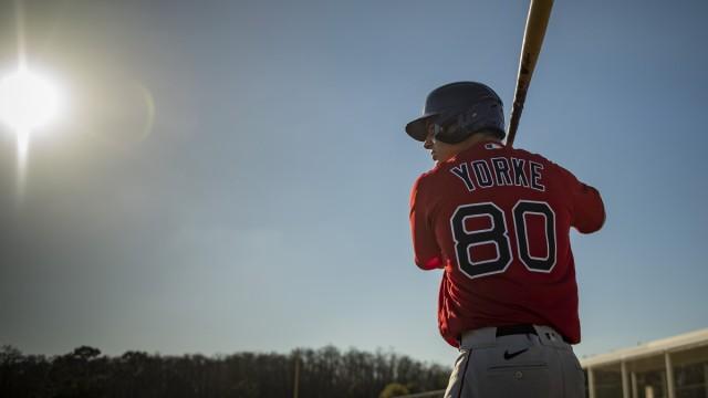 Boston Red Sox prospect Nick Yorke