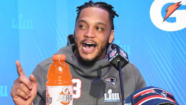 Former New England Patriots safety Patrick Chung