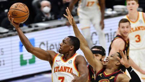 Atlanta Hawks point guard Rajon Rondo