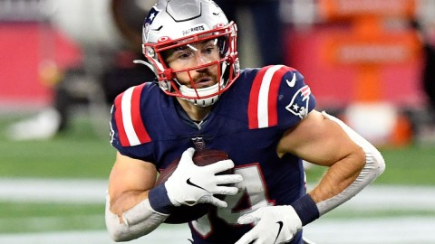 Patriots running back Rex Burkhead