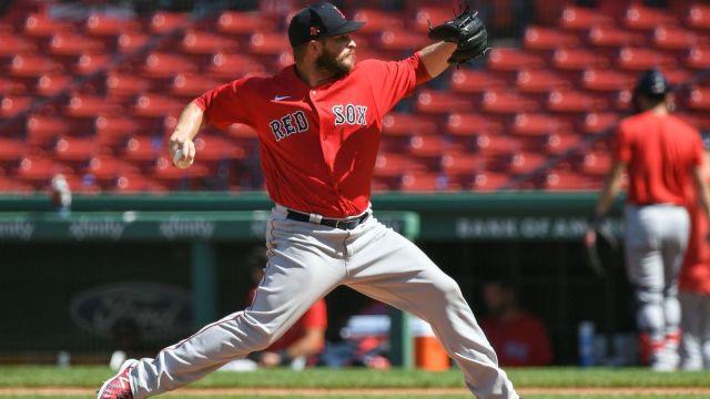 Boston Red Sox reliever Ryan Brasier
