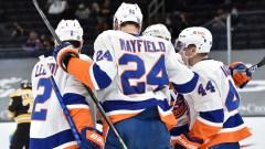 New York Islanders Defenseman Scott Mayfield