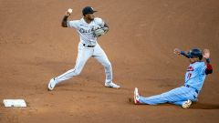 Chicago White Sox shortstop Tim Anderson and Minnesota Twins infielder Jorge Polanco