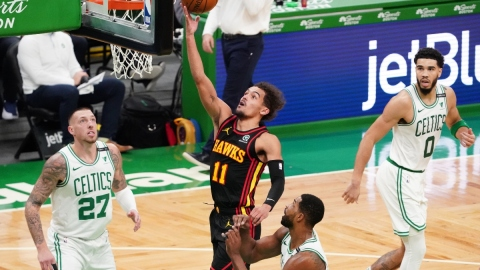 Atlanta Hawks guard Trae Young (11)