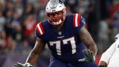 New England Patriots offensive tackle Trent Brown