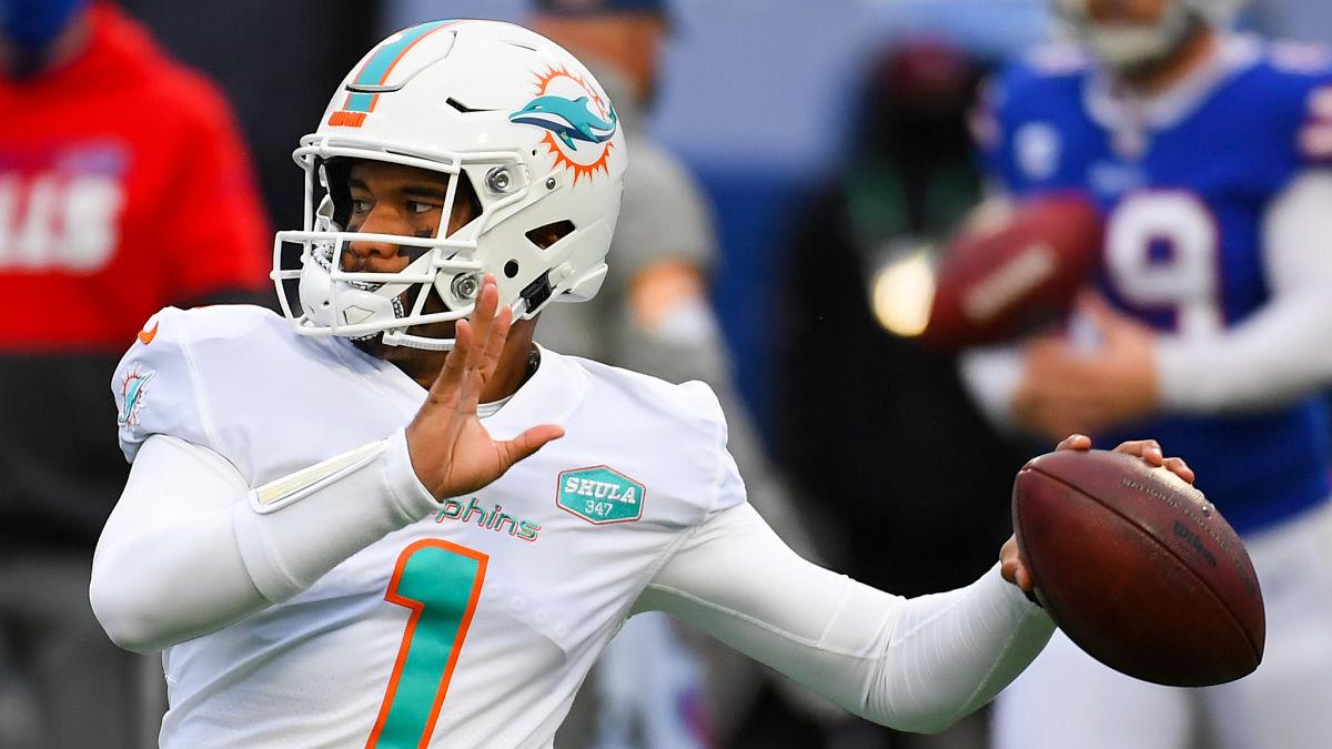 Tua Tagovailoa To Patriots? PFF Gets Weird With 2021 NFL Mock Draft - NESN.com