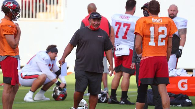 Tampa Bay Buccaneers quarterbacks coach Clyde Christensen