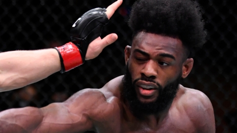 UFC bantamweight champion Aljamain Sterling