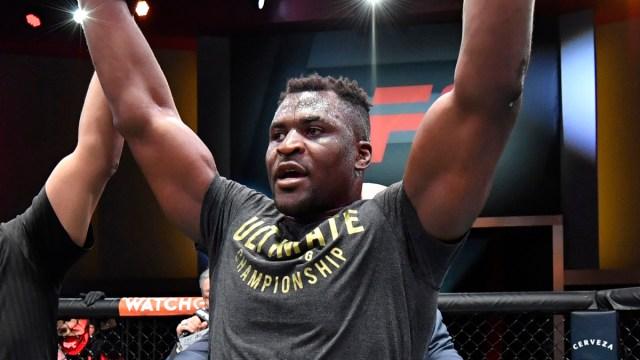 UFC heavyweight Francis Ngannou