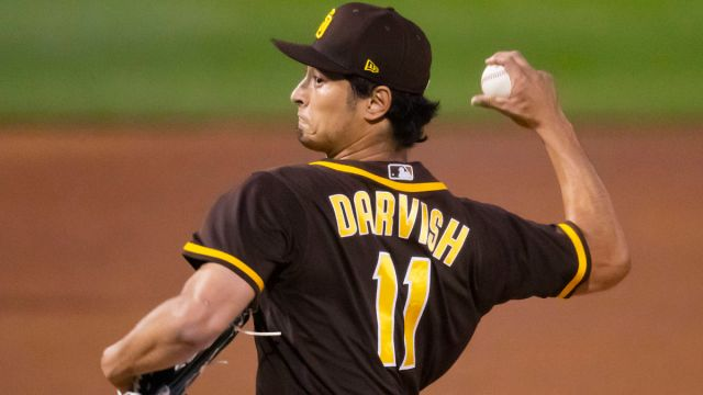 San Diego Padres pitcher Yu Darvish