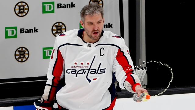 Washington Capitals forward Alex Ovechkin