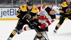 Boston Bruins left wing Anders Bjork
