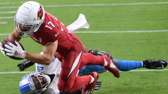 Arizona Cardinals wide receiver Andy Isabella