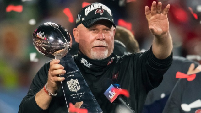 Tampa Bay Buccaneers head coach Bruce Arians