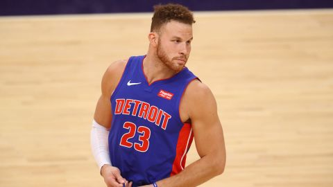 Detroit Pistons forward Blake Griffin