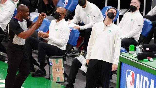 Boston Celtics head coach Brad Stevens