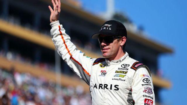 Former NASCAR driver Carl Edwards