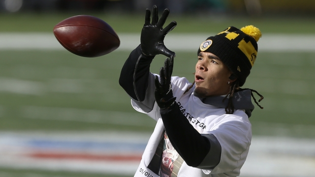 Pittsburgh Steelers wide receiver Chase Claypool