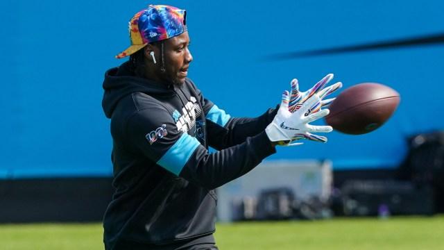 Carolina Panthers wide receiver Curtis Samuel