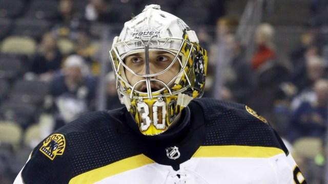 Boston Bruins Goaltender Dan Vladar