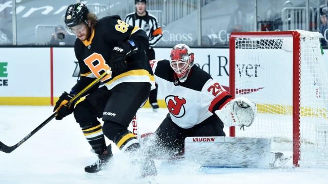 Boston Bruins right wing David Pastrnak