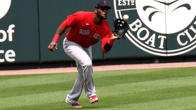 Boston Red Sox outfielder Franchy Cordero