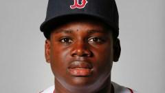 Boston Red Sox outfielder Gilberto Jimenez