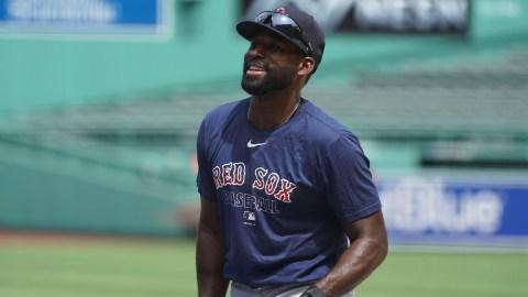 Former Boston Red Sox center fielder Jackie Bradley Jr.