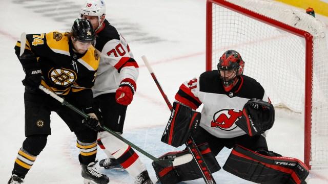 Boston Bruins Forward Jake DeBrusk