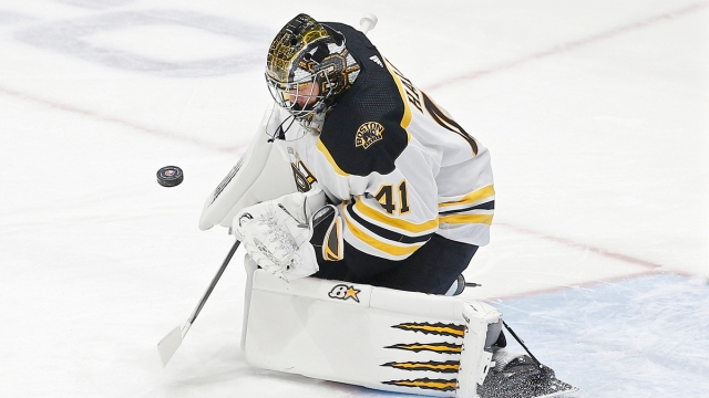 Boston Bruins goaltender Jaroslav Halak