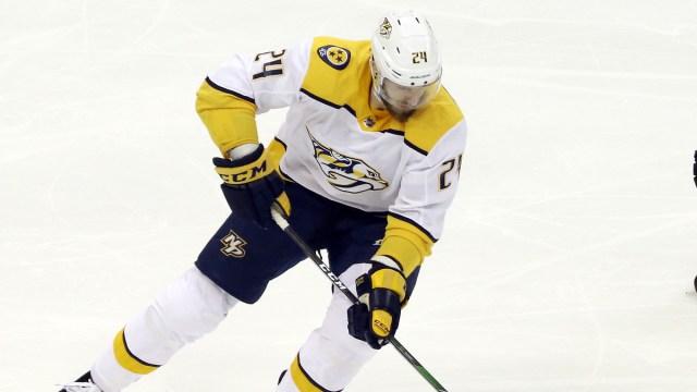 Boston Bruins defenseman Jarred Tinordi