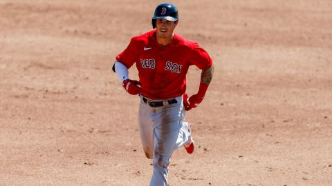 Boston Red Sox center fielder Jarren Duran