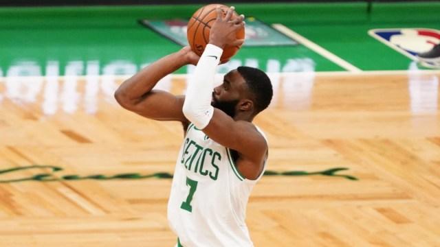 Boston Celtics guard Jaylen Brown