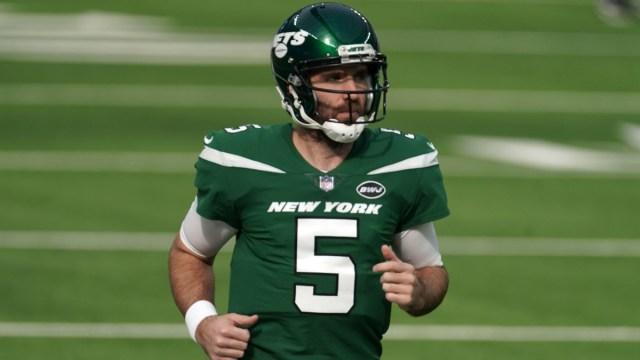 New York Jets quarterback Joe Flacco