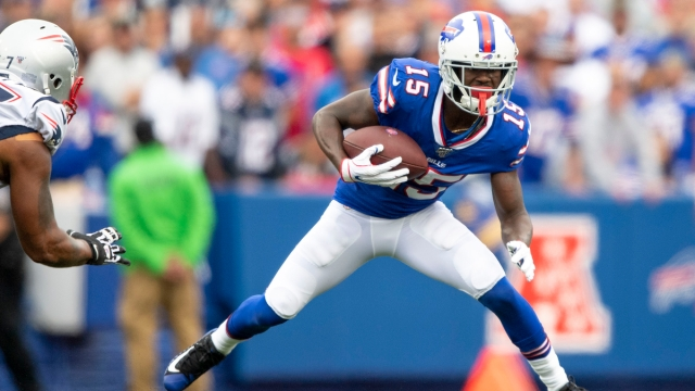 NFL free-agent wide receiver John Brown