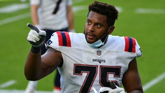 New England Patriots offensive tackle Justin Herron