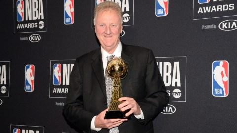 Boston Celtics legend Larry Brid