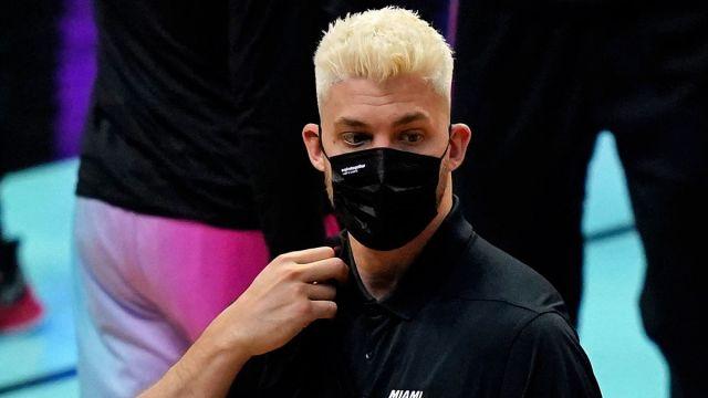 Miami Heat center Meyers Leonard