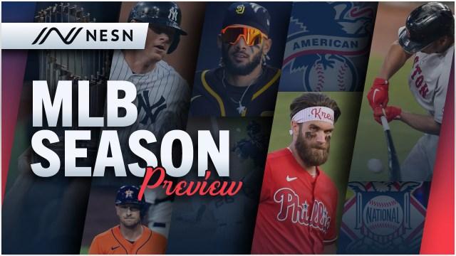 2021 NESN.com MLB Season Preview graphic