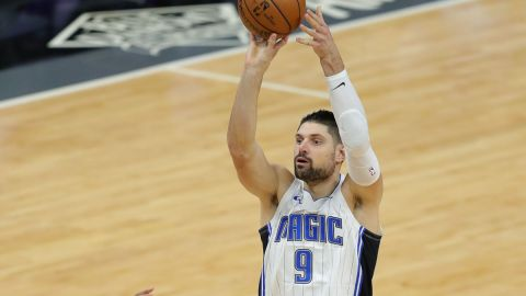 Orlando Magic center Nikola Vucevic