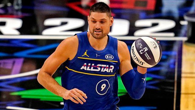 Orlando Magic guard Nikola Vucevic