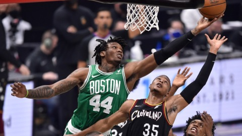 Boston Celtics center Robert Williams III