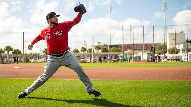 Boston Red Sox pitcher Ryan Braiser