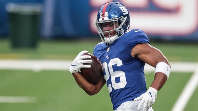 New York Giants running back Saquon Barkley