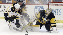 Boston Bruins center Sean Kuraly
