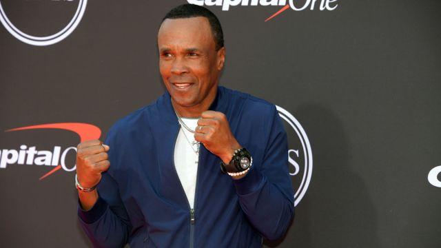 Former boxer Sugar Ray Leonard